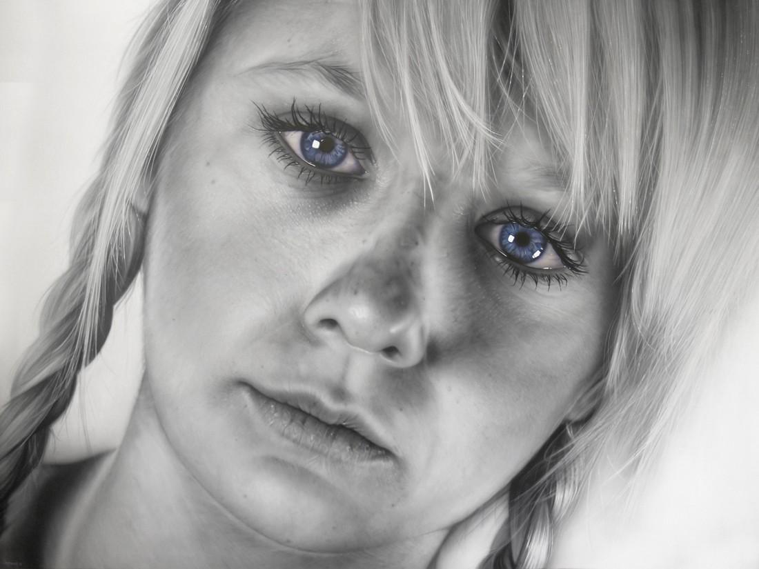 <span class=&#34;artist&#34;><strong>Simon Hennessey</strong></span>, <span class=&#34;title&#34;><em>Blond Hair, Blue Eyed Innocence</em></span>