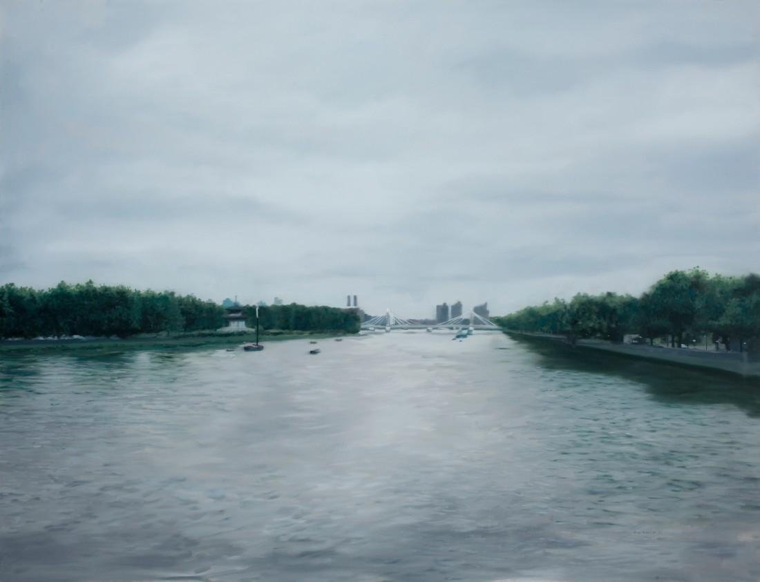 Francisco Rangel, Albert Bridge from a Distant