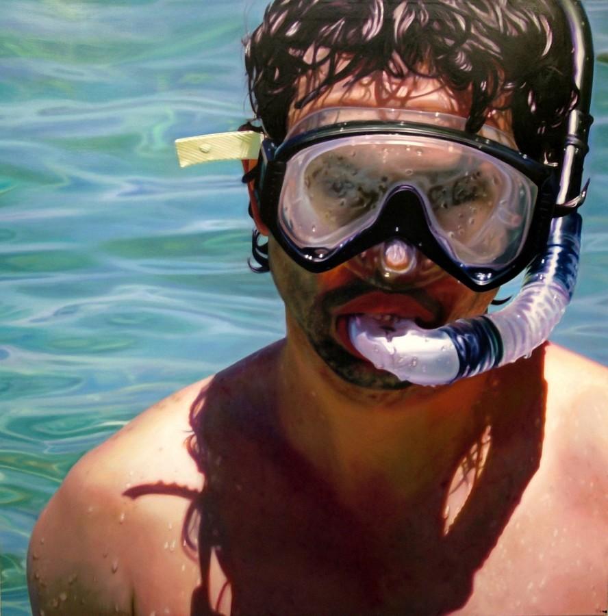 Craig Wylie, Mask (self portrait)