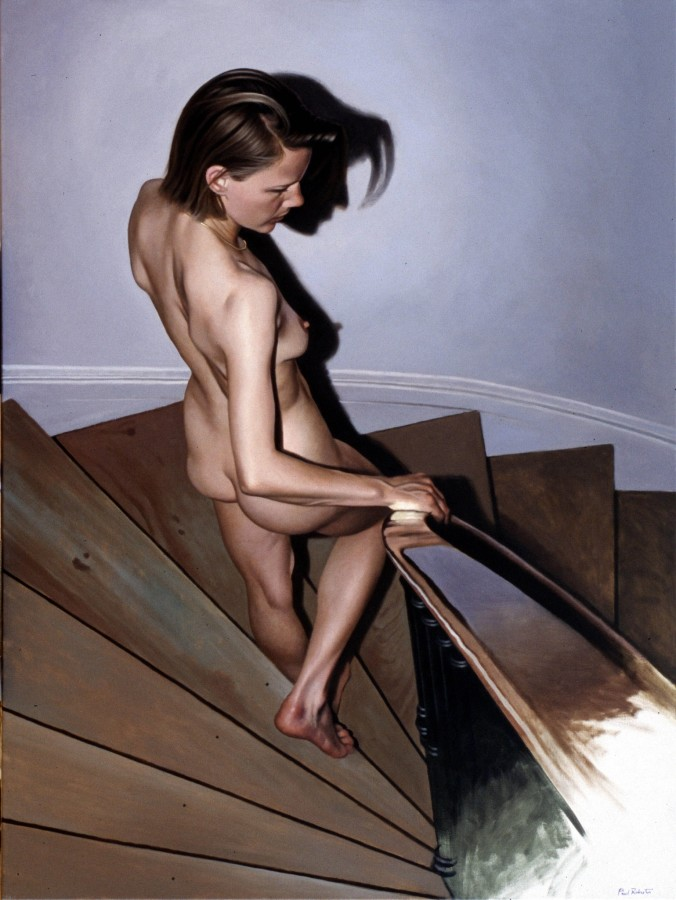 <span class=&#34;artist&#34;><strong>Paul Roberts</strong></span>, <span class=&#34;title&#34;><em>Nude Descending</em></span>