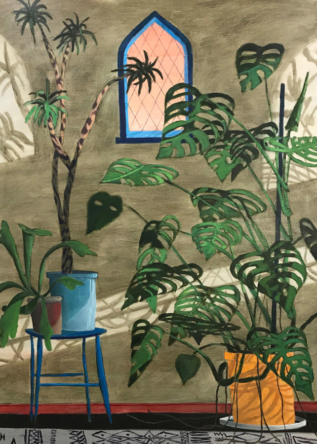Tom Howse, Plants in the Nave, 2019