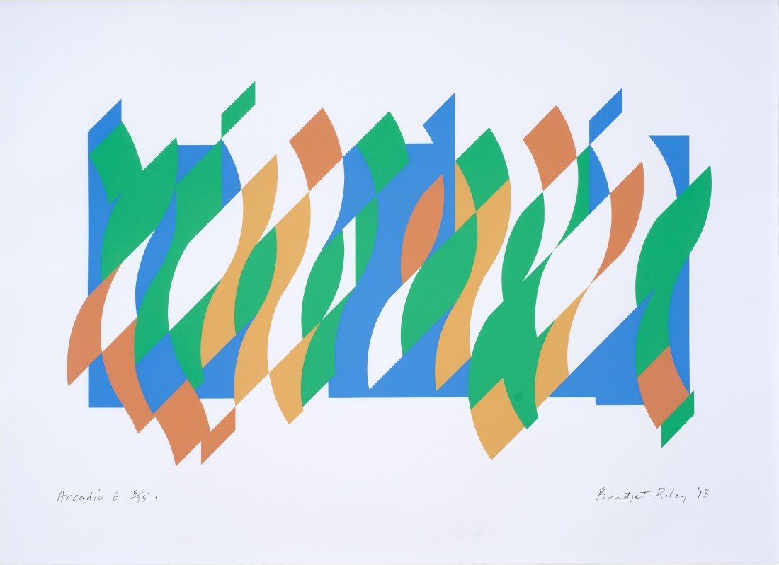 Bridget Riley, Arcadia 6 , 2013