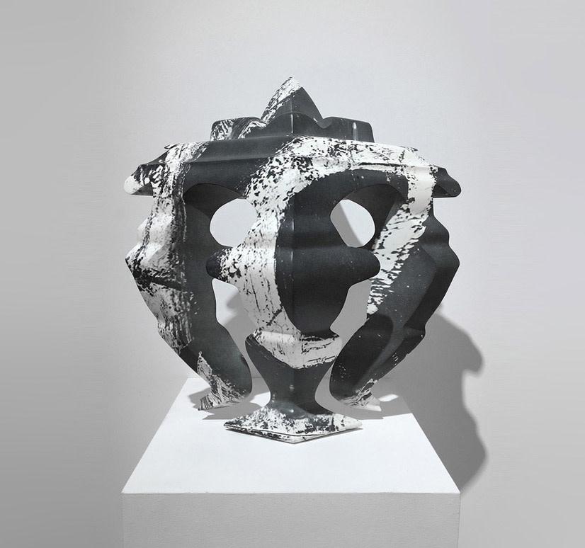 Nick Hornby, Mask (de Kooning), 2018