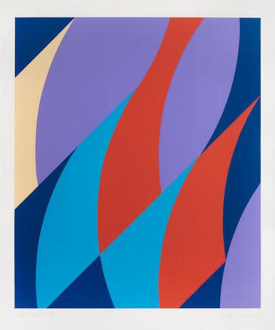 Bridget Riley, Large Fragment, 2006