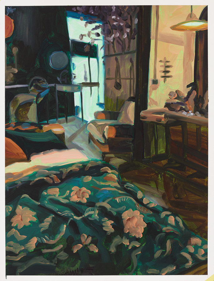 Anna Freeman Bentley, Study for Blocking, 2019