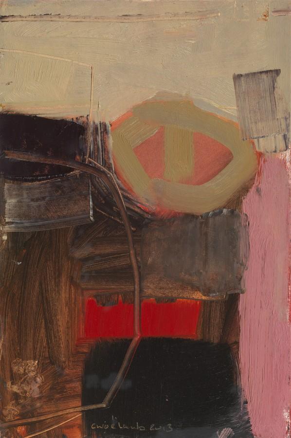 """<p>36c. Bedwyn Pink II, Oil, 15"""" x 10""""</p>"""
