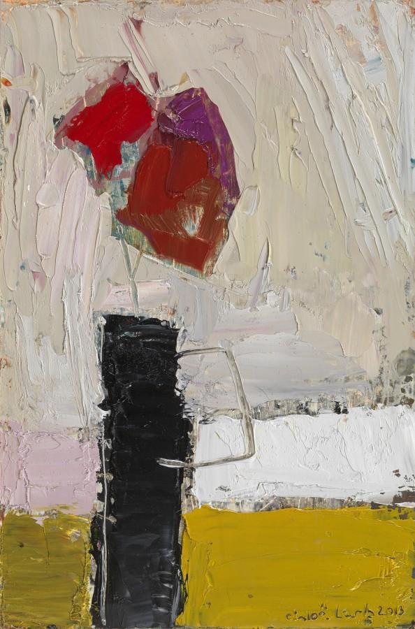 "<p>36a. Devon Flowers, Oil, 15"" x 10""</p>"