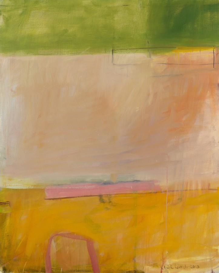 <p>23. Green Horizon, Oil 60&#34; x 48&#34;</p>