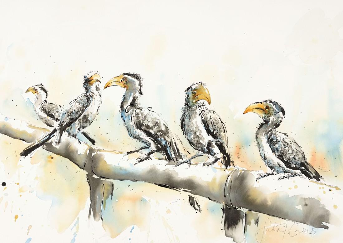 <p>Chattering Hornbills, &#163;1,750</p>