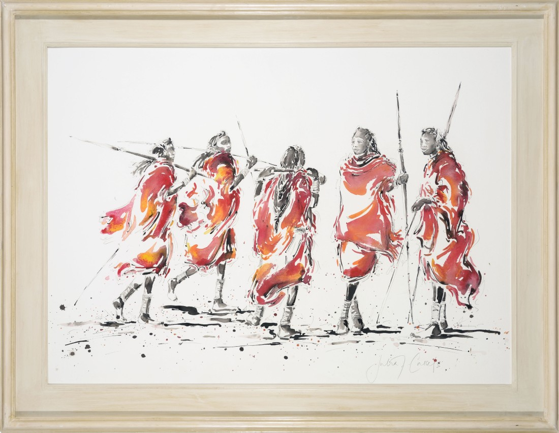 <p>Gathering of Warriors, &#163;2,250</p>