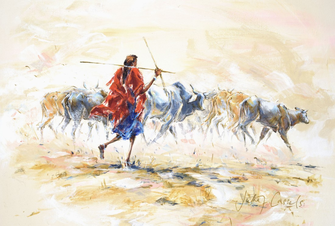 <p>Herding Cattle to Ngorongoro, &#163;2,250</p>