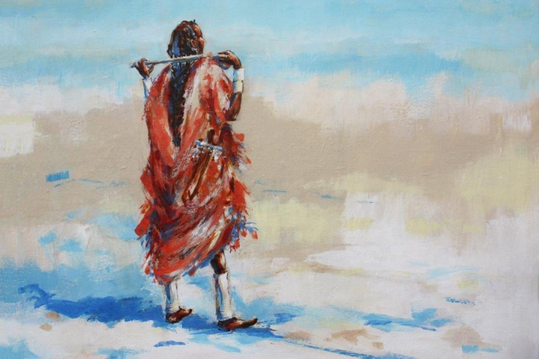 <p>Maasai Watchman, &#163;1,750</p>