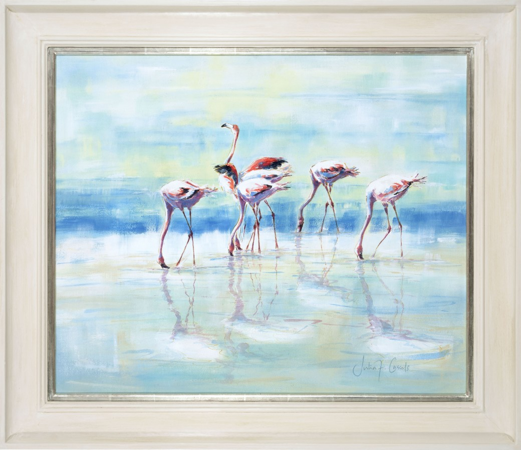 <p>Ngorongoro Flamingoes, &#163;2,750</p>