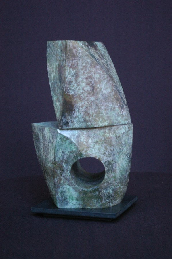 <p>Adam Roud<i>. No 51</i>. Edition 1/12. Bronze. 31.8 x 20.3 x 13.3 cms&#160; Price: &#163;3,870</p>