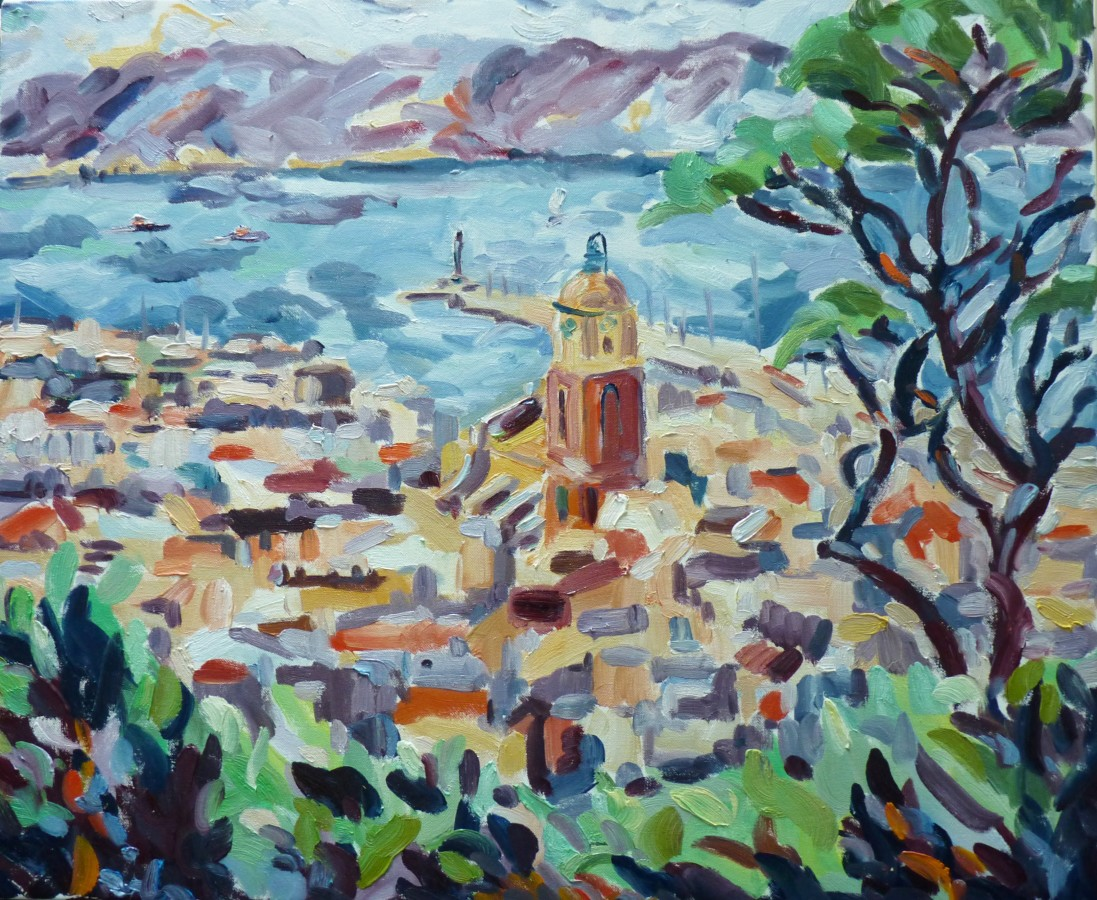 <p>Fi Katzler. <em>St Tropez</em>.&#160; Oil on canvas.60 x 73cm.&#160; Price: &#163;1,250</p>