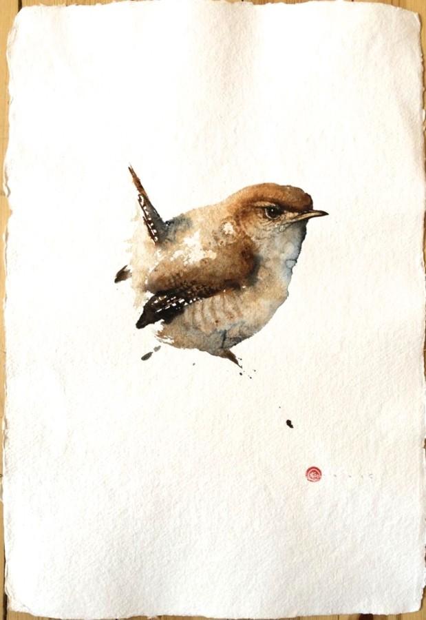 <p>Wren</p><p>Watercolour</p><p>22&#34; x 15&#34;</p>