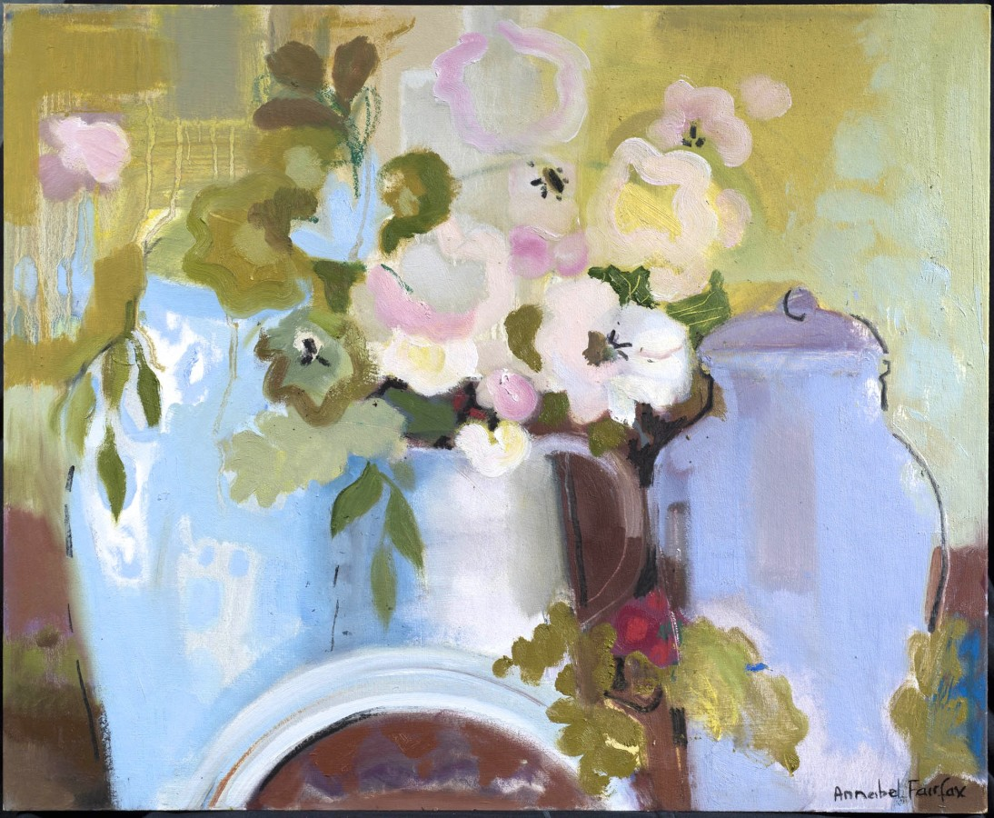 <p><b>Annabel Fairfax</b><br /><i>Blossom</i><br />Signed<br />Oil on Board<br />16 x 19 in<br />40.6 x 48.3 cms</p>
