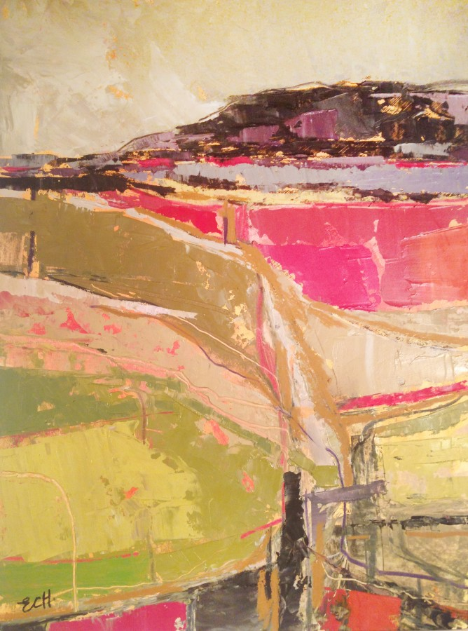 <p><b>Emma Haggas</b><br /><i>Across the Fields</i><br />Signed<br />Oil on board<br />19 3/4 x 14 5/8 in<br />50 x 37 cms</p>