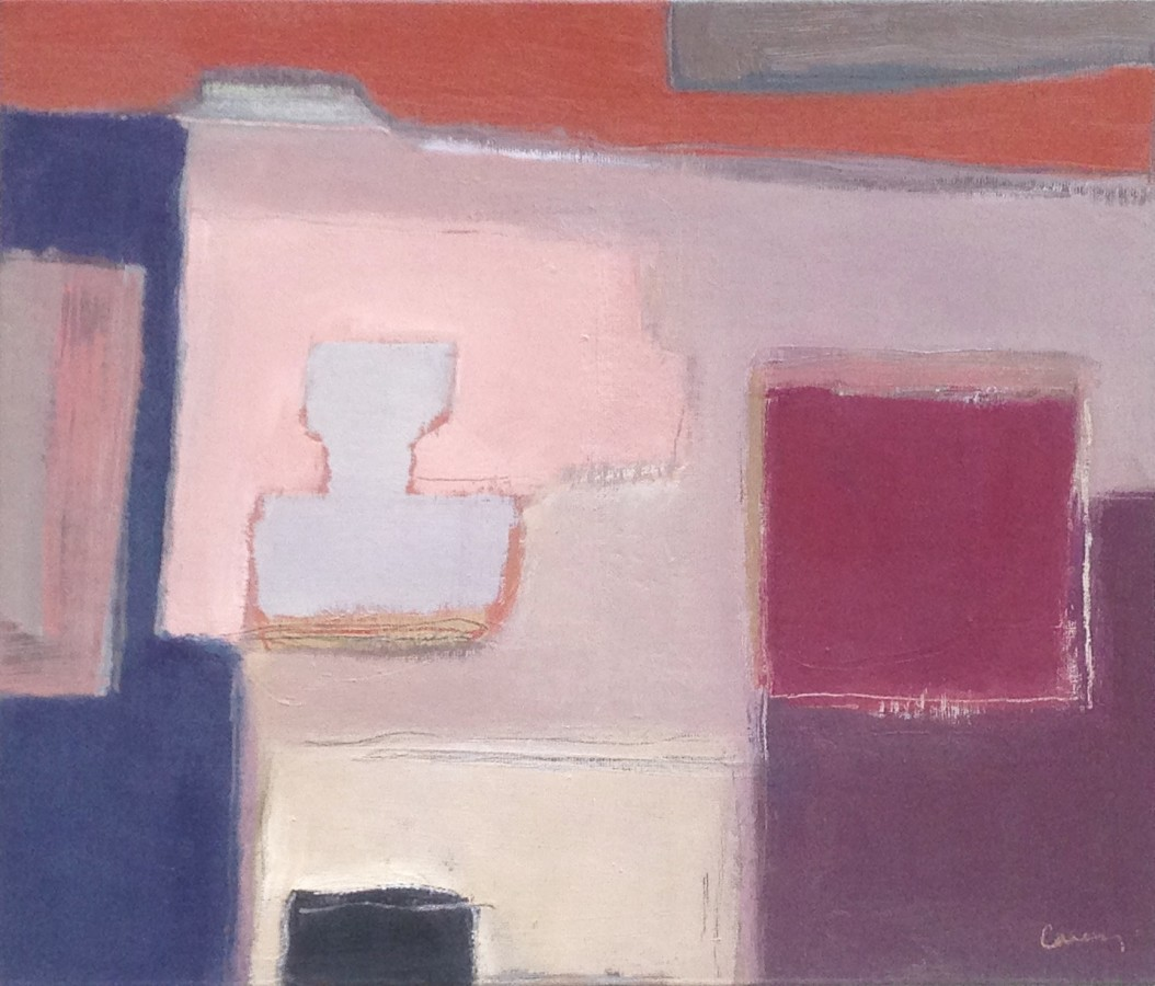 <p><b>Netta Carey</b><br /><i>Small Grey Vase</i><br />Signed<br />Oil on Board<br />12 1/8 x 13 3/4 in<br />30.5 x 35 cms</p>