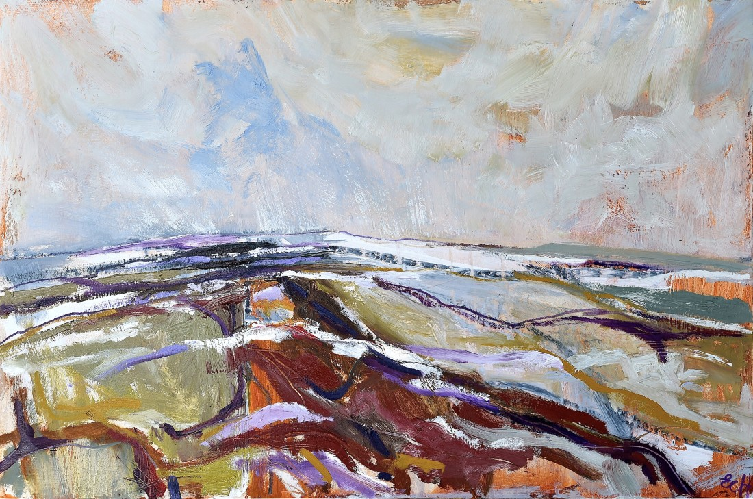 <p><strong>Emma Haggas, </strong></p><p><em><strong>Pewsey Vale in Snow</strong></em></p>