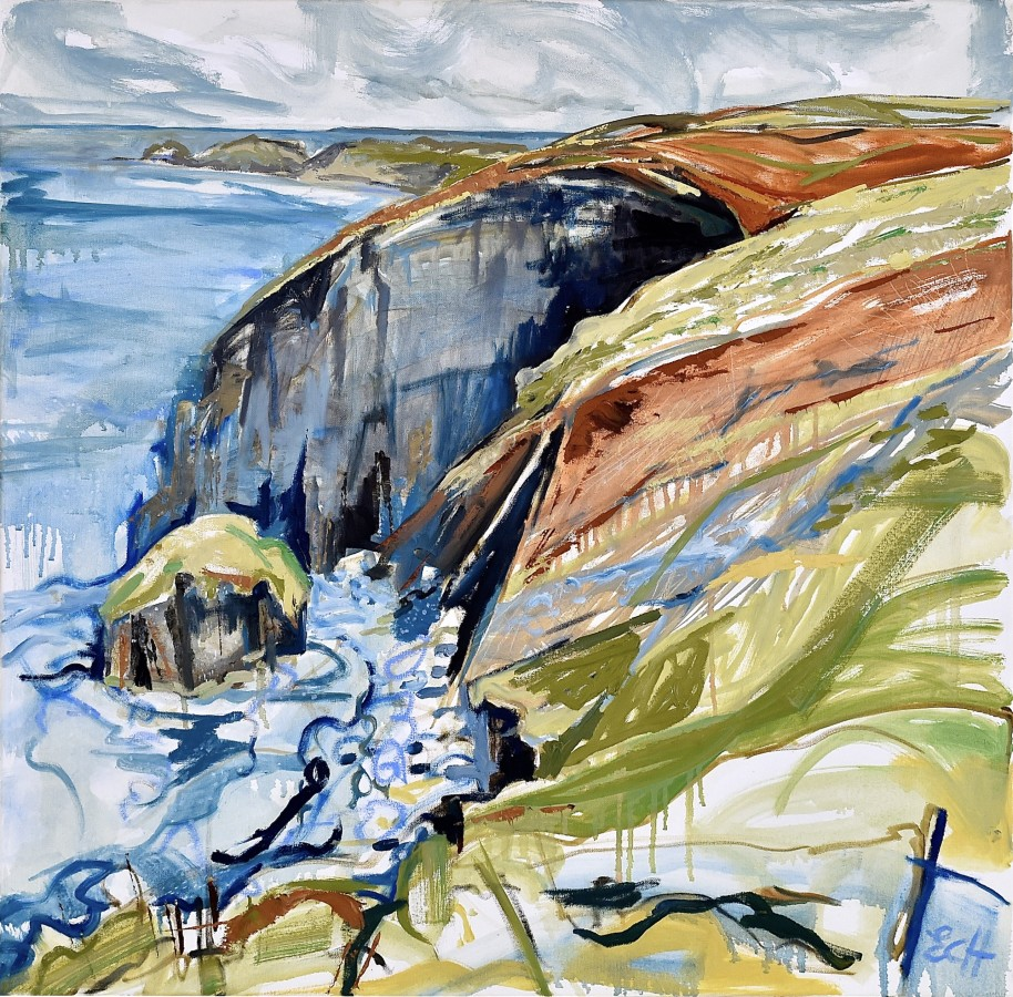 <p><strong>Emma Haggas,</strong></p><p><em><strong>Cliffs at Beeny, North Cornwall</strong></em></p>