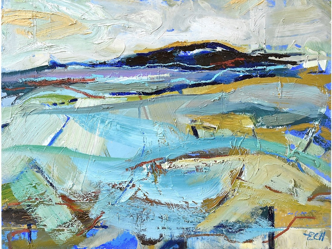 <p><strong>Emma Haggas,</strong></p><p><em><strong>Blue Field</strong></em></p><p> </p>