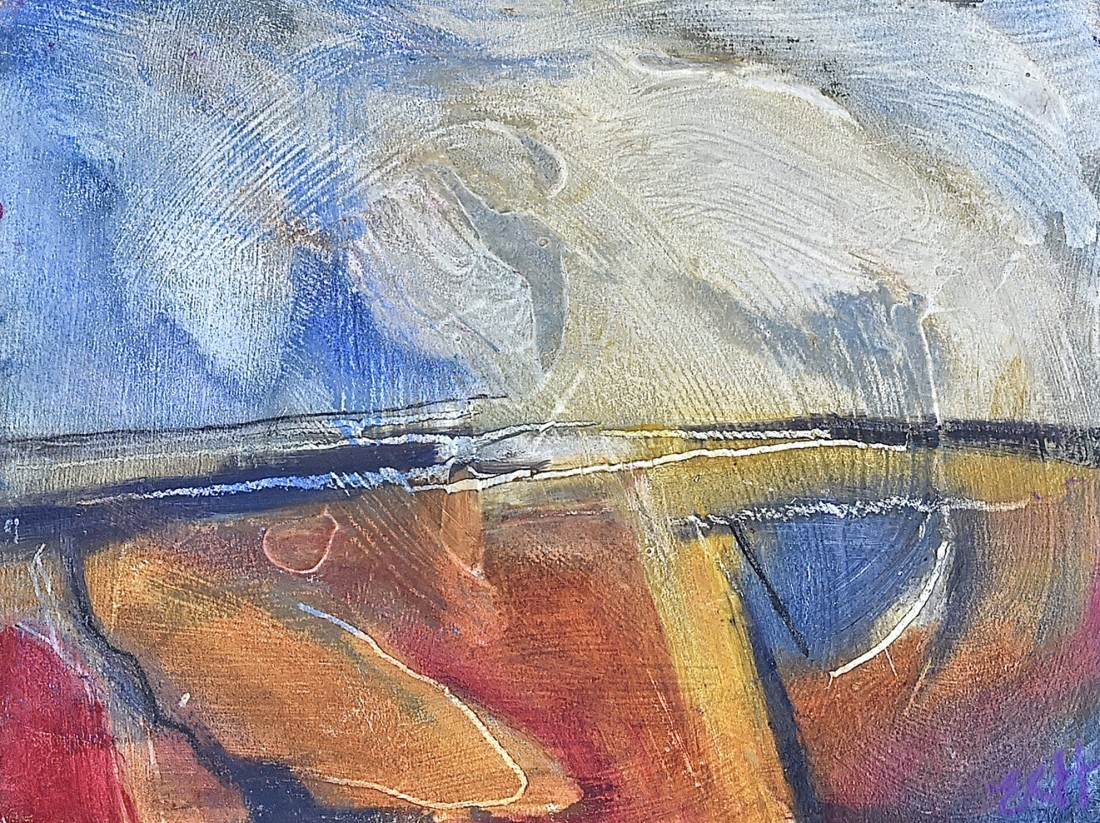 <p><strong>Emma Haggas, </strong></p><p><em><strong>Fields and Sky</strong></em></p>