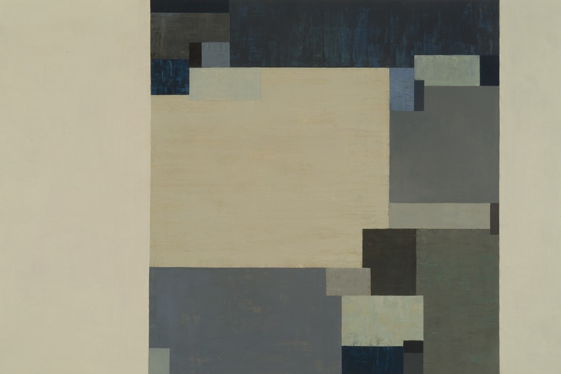 Tamar Zinn  Broadway 102, 2012  oil on panel  24 x 36 in