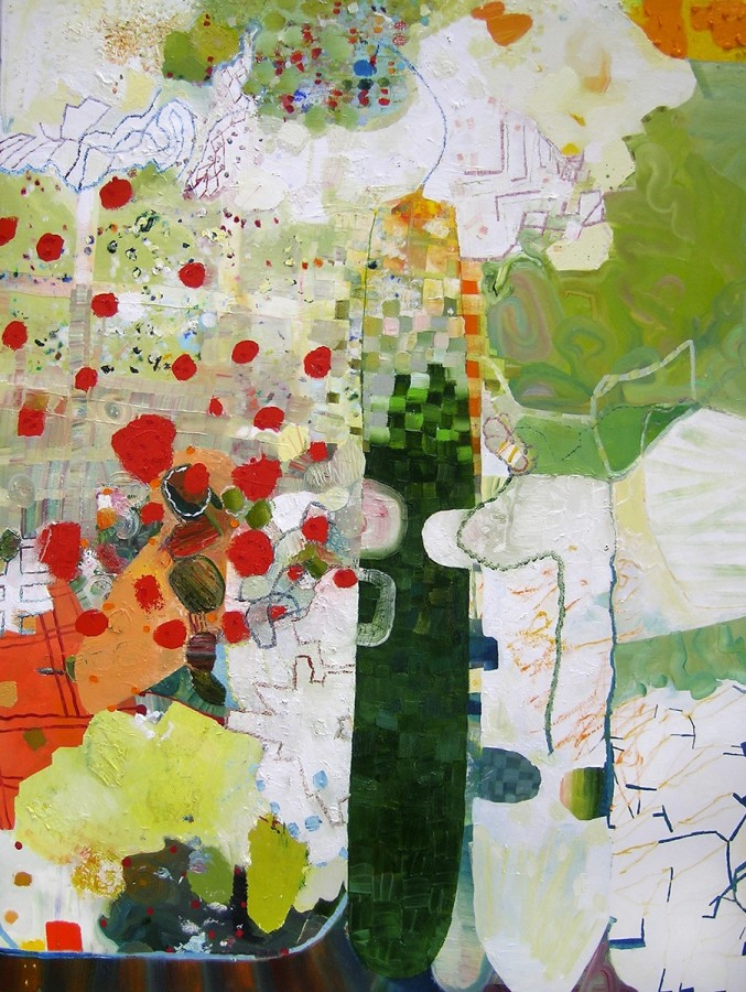Josette Urso ONE, 2013 Oil on canvas 48 x 36 inches