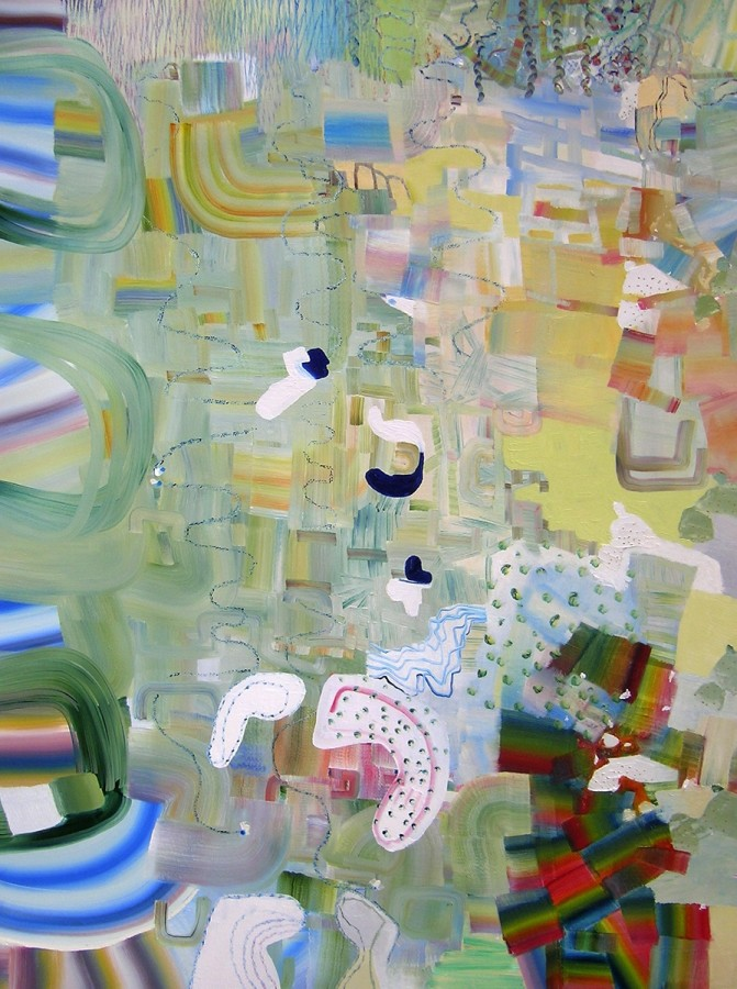 Josette Urso Softly Green, 2013 Oil on canvas 48 x 36 inches