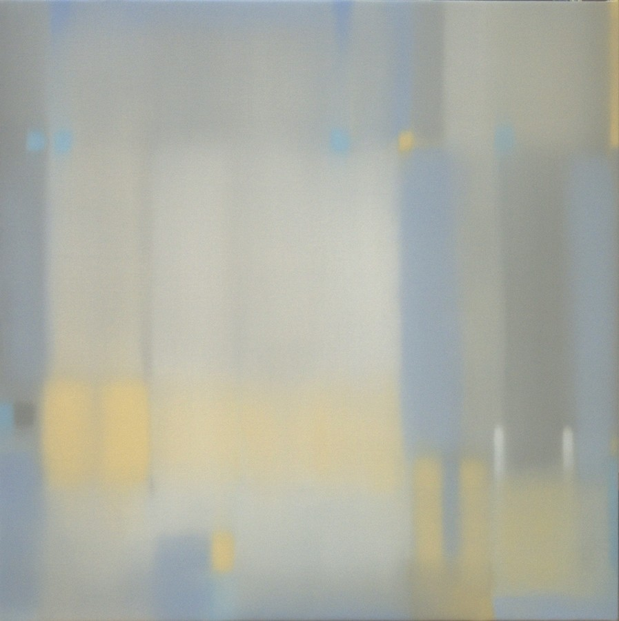Julian Jackson  Crossing Air, 2012  Oil on canvas  36 X 36 inches