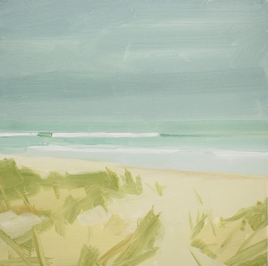 Sara MacCulloch  Wave 2012  Oil on canvas  16 x 16 inches