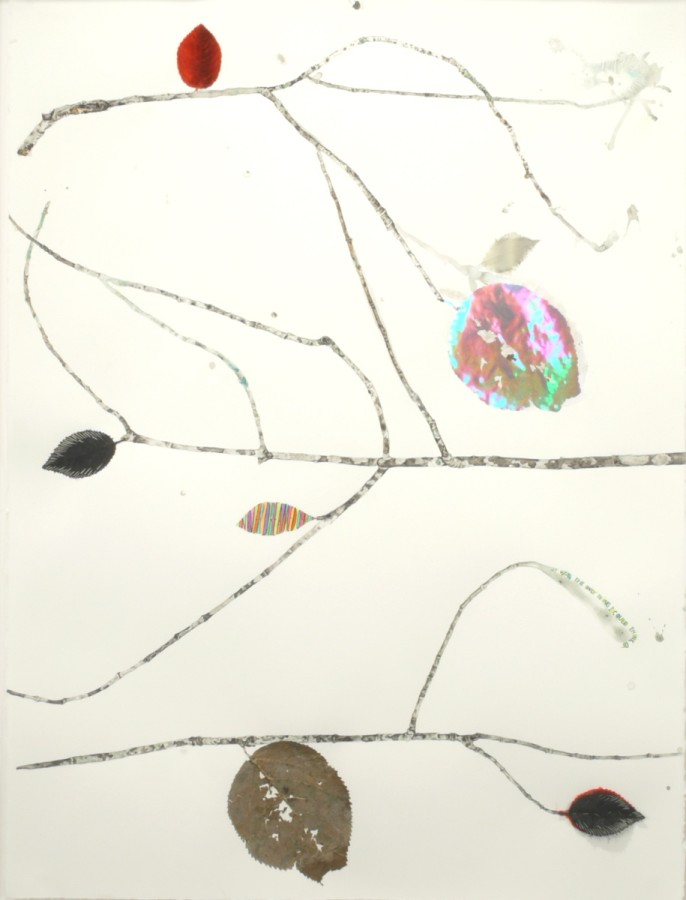 Marilla Palmer  The Only Thing, 2011  mixed media  30 x 22 in