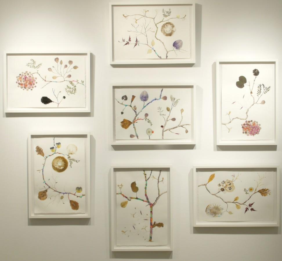 Marilla Palmer  The Mango Tree, 2012  mixed media  15 x 22 in