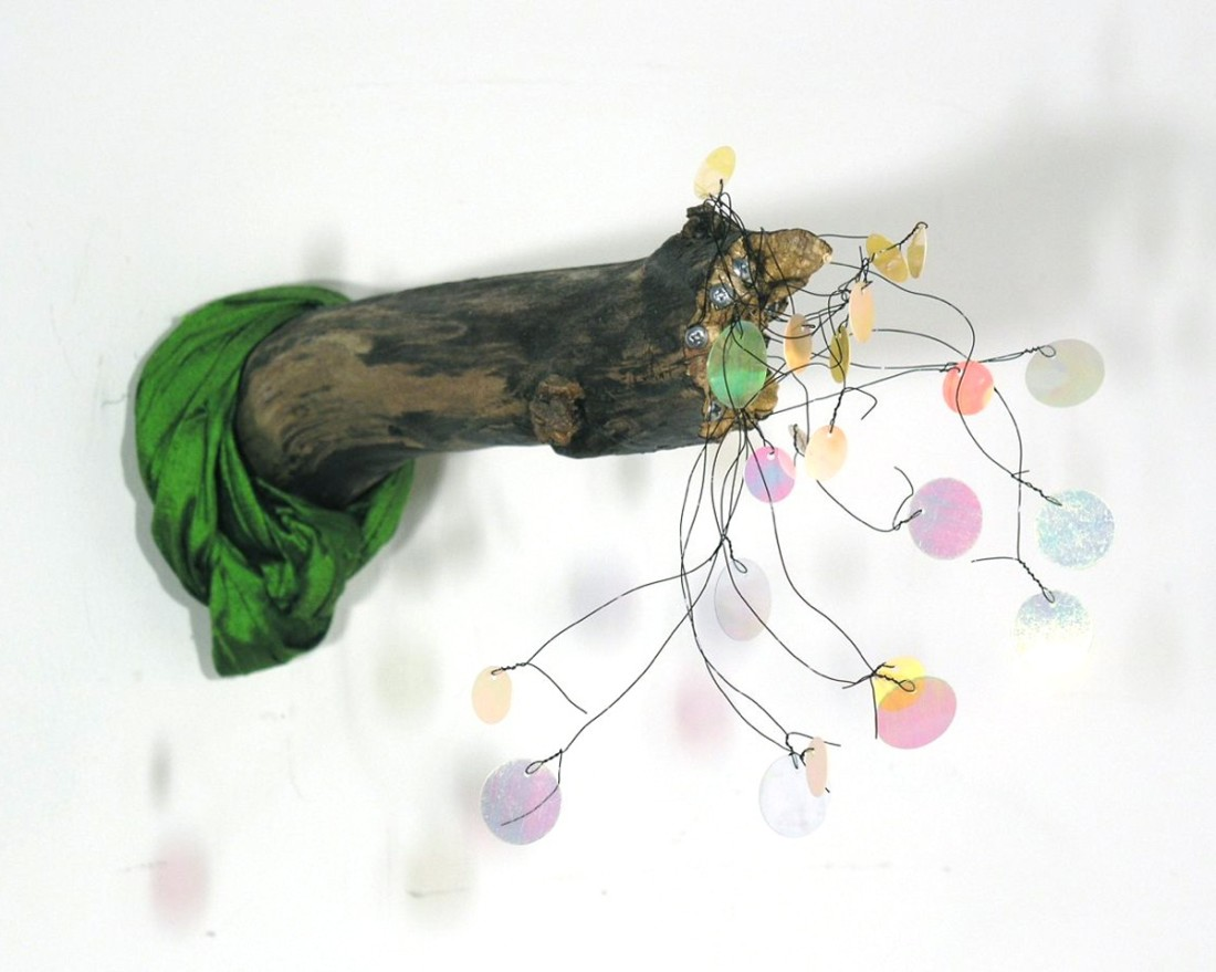 Marilla Palmer  Turban, 2011  mixed media  12 x 7 x 4 in