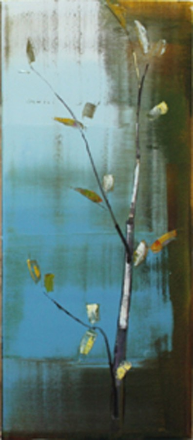Stephen Pentak III. VII, 2011 Oil on panel, 48 X 21 inches
