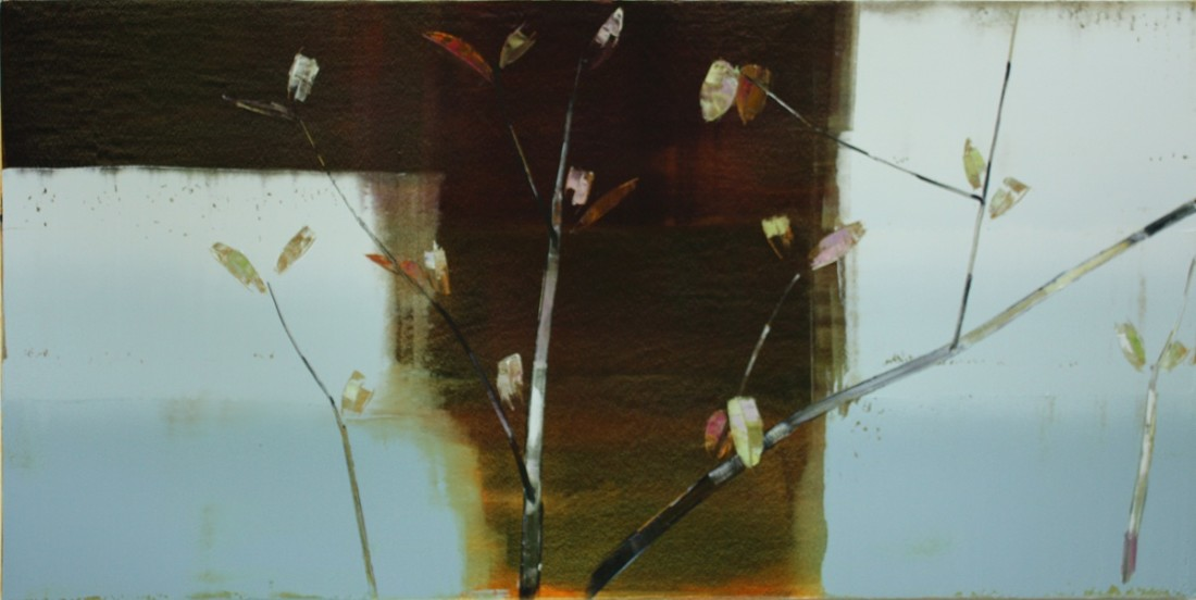 Stephen Pentak VIII.I, 2011 Oil on panel 36 x 72 inches