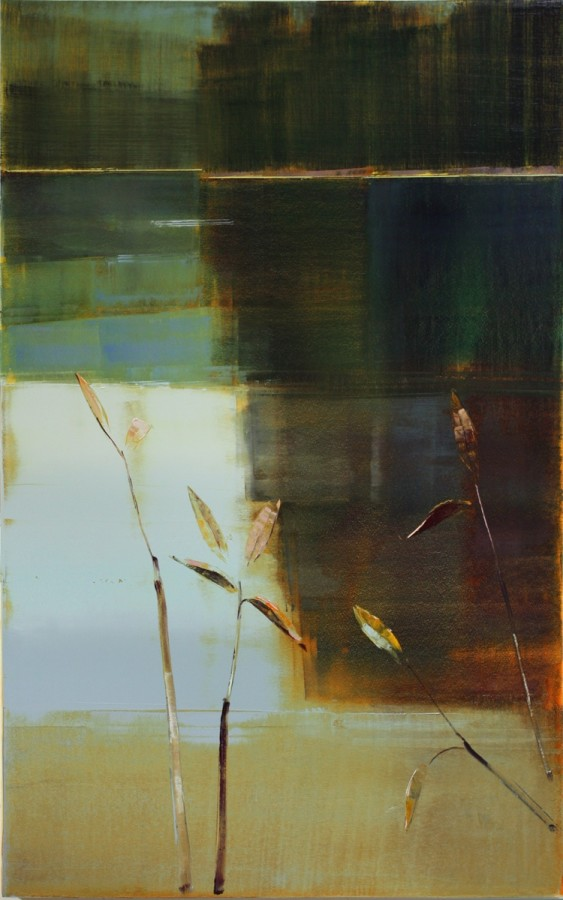 Stephen Pentak VIII.II, 2011 Oil on panel 64 x 40 inches
