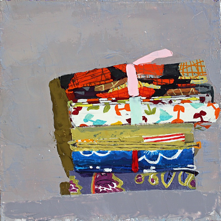"Sydney Licht, ""Still Life with Fat Quarters"""