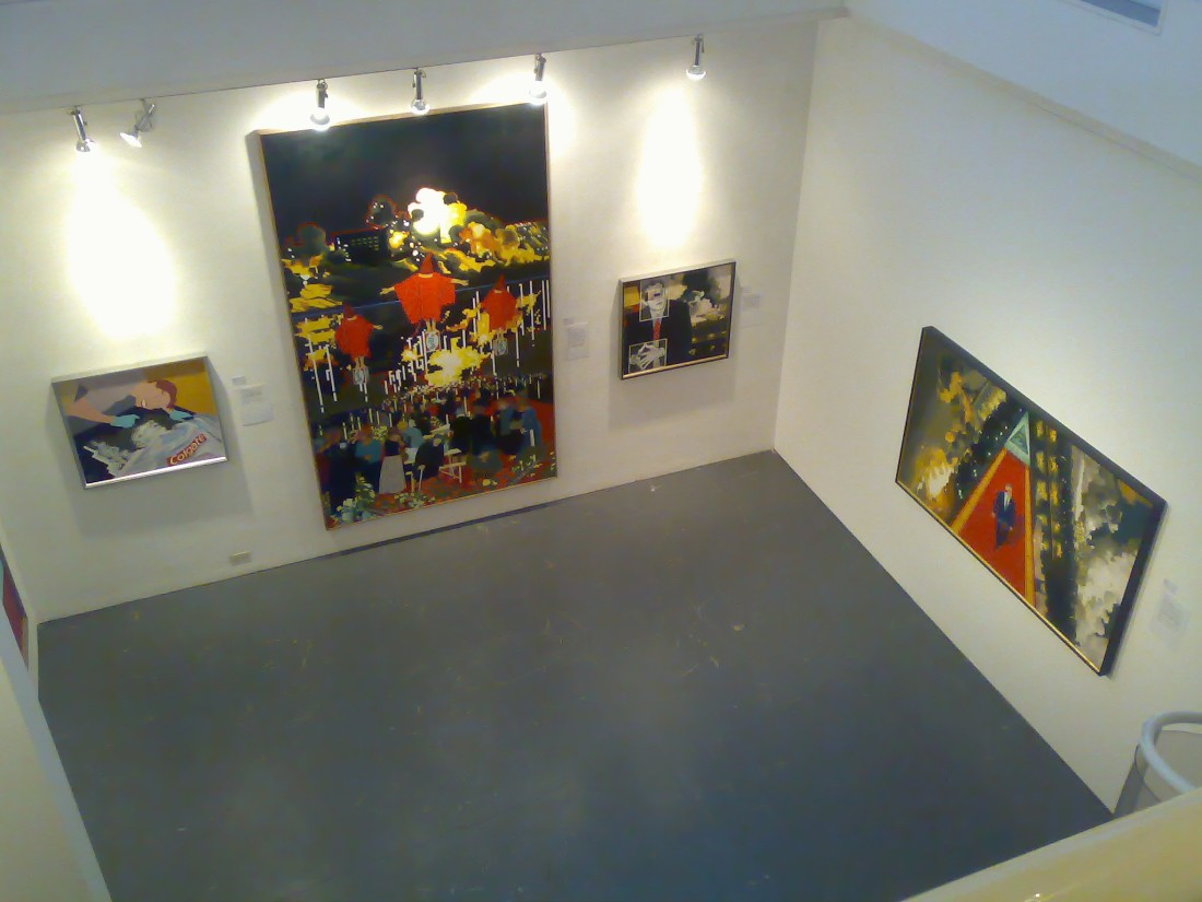 <p>GERALD LAING Installation View</p>