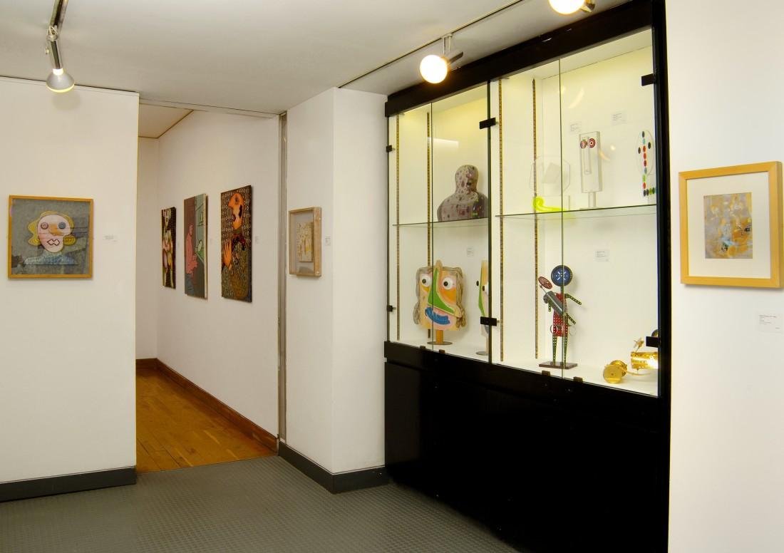 <p>ITALIAN POP Installation View</p>