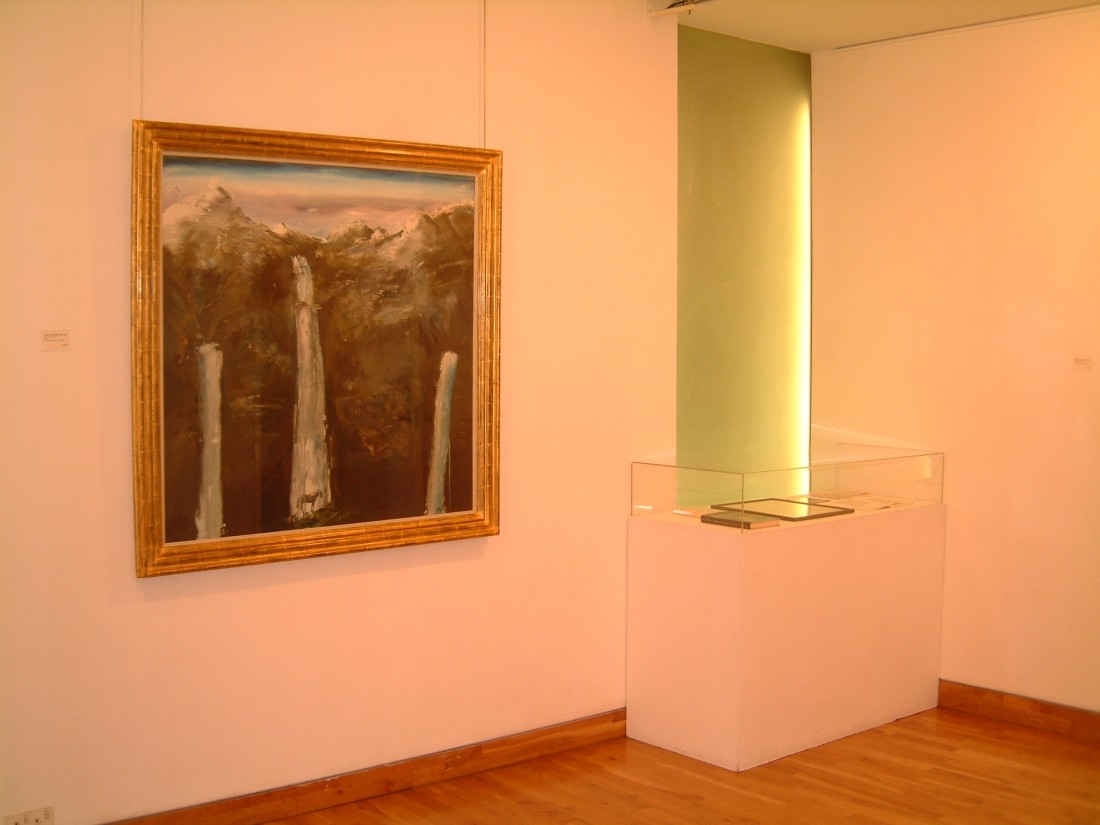 <p>MICHAEL WISHART Installation View</p>