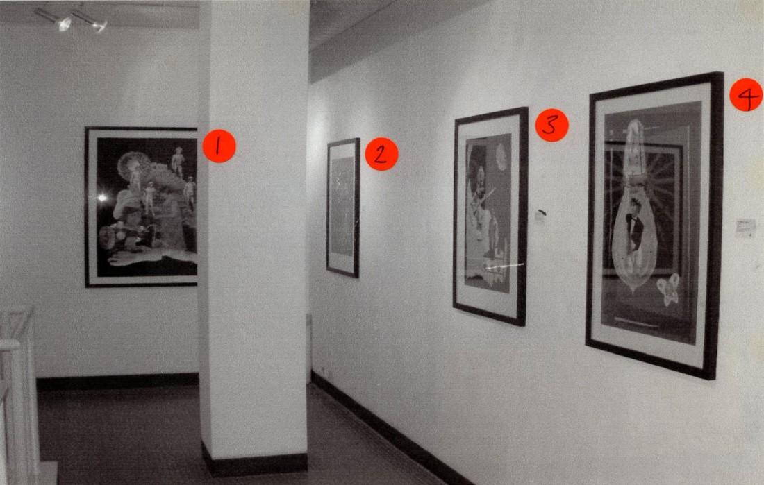 <p>NATALIE MEYJES Installation View</p>