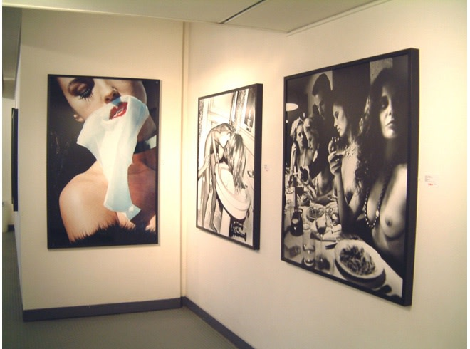 <p>HELMUT NEWTON Installation View</p>