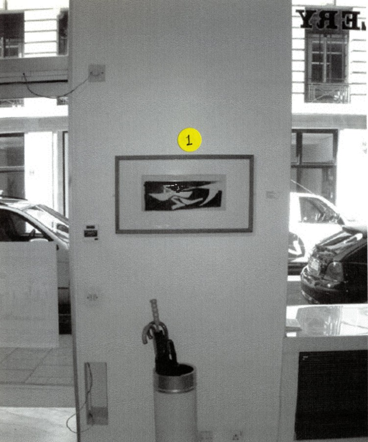 <p>CERI RICHARDS Installation View</p>