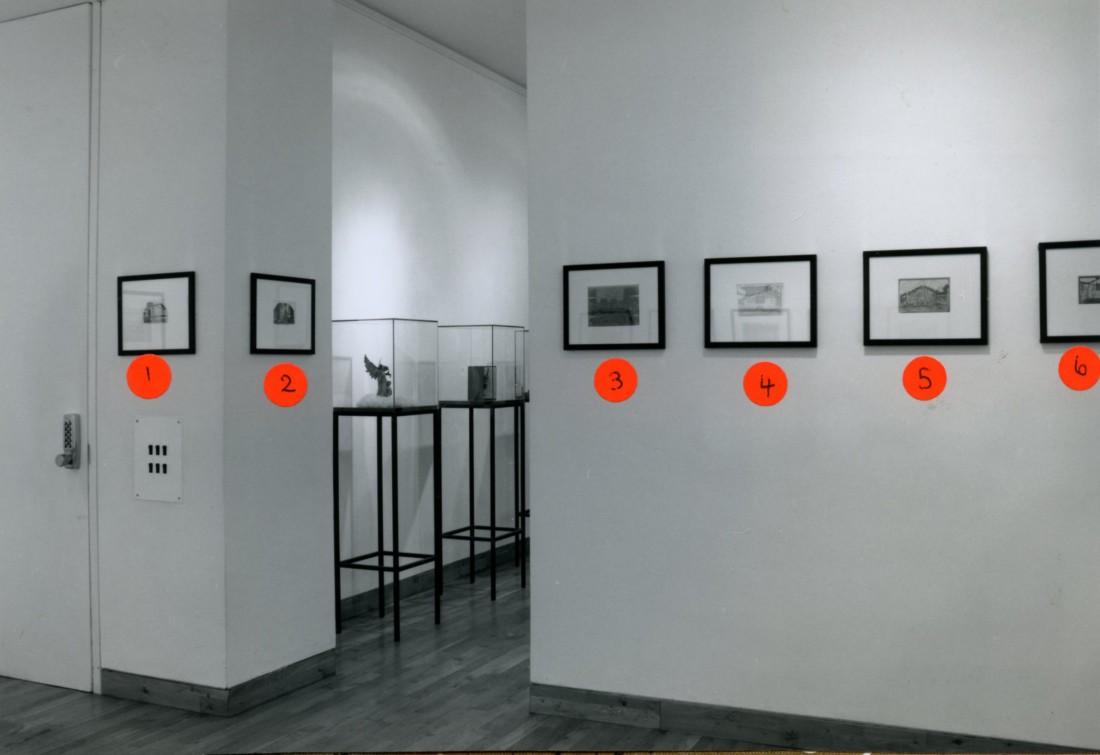 <p>THIERRY RENARD Installation View</p>