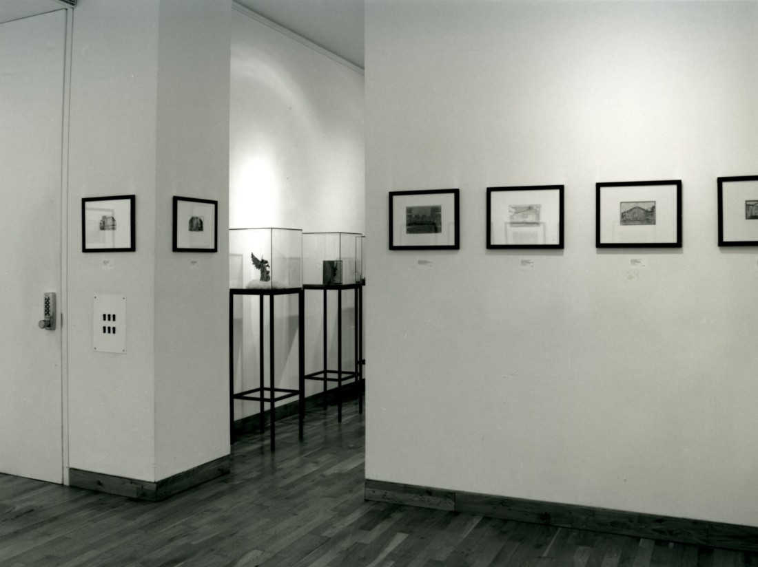 <p>JAMES CASTLE Installation View</p>
