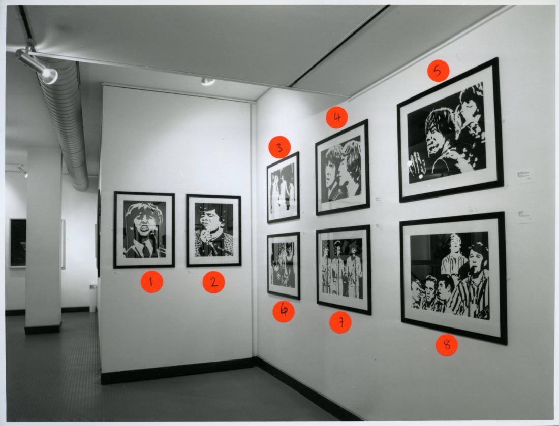 <p>BOB STANLEY Installation View</p>