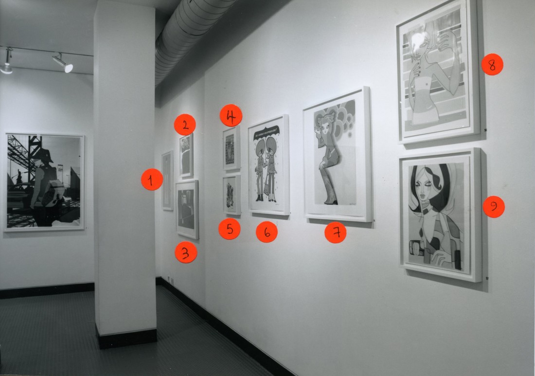 <p>FASHION ILLUSTRATION NOW Installation View</p>