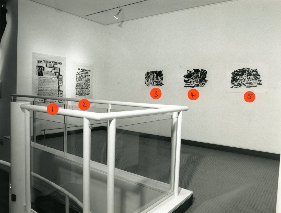 <p>BANK Installation View</p>